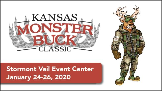 Kansas Monster Buck Classic at Stormont Vail Event Center!