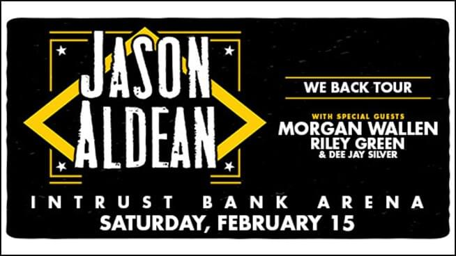 Jason Aldean Is Back In Kansas This Weekend With The We Back Tour