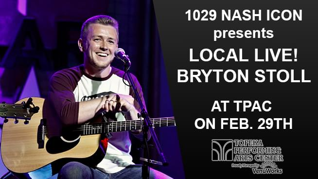 Bryton Stoll To Perform At TPAC's 'Local Live!'