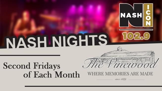 Dance to Marilyn Pierce & The South Fork Band at NASH Nights at the Vinewood This Friday!
