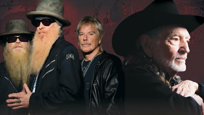 ZZ Top and Willie Nelson are Going On The Road Again!