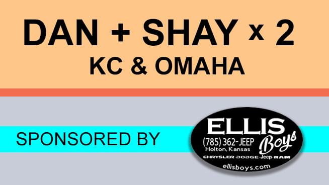 You Could See Dan + Shay Twice This Summer With Dan + Shay x 2