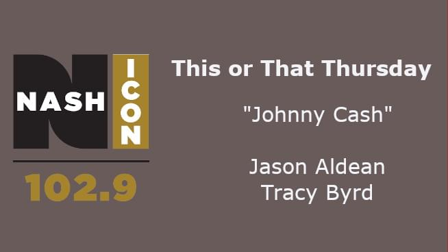 This Or That Thursday: Jason Aldean or Tracy Byrd