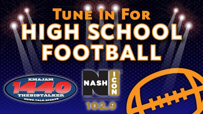 High School Football 2020 Is Also On 102.9 Nash Icon!