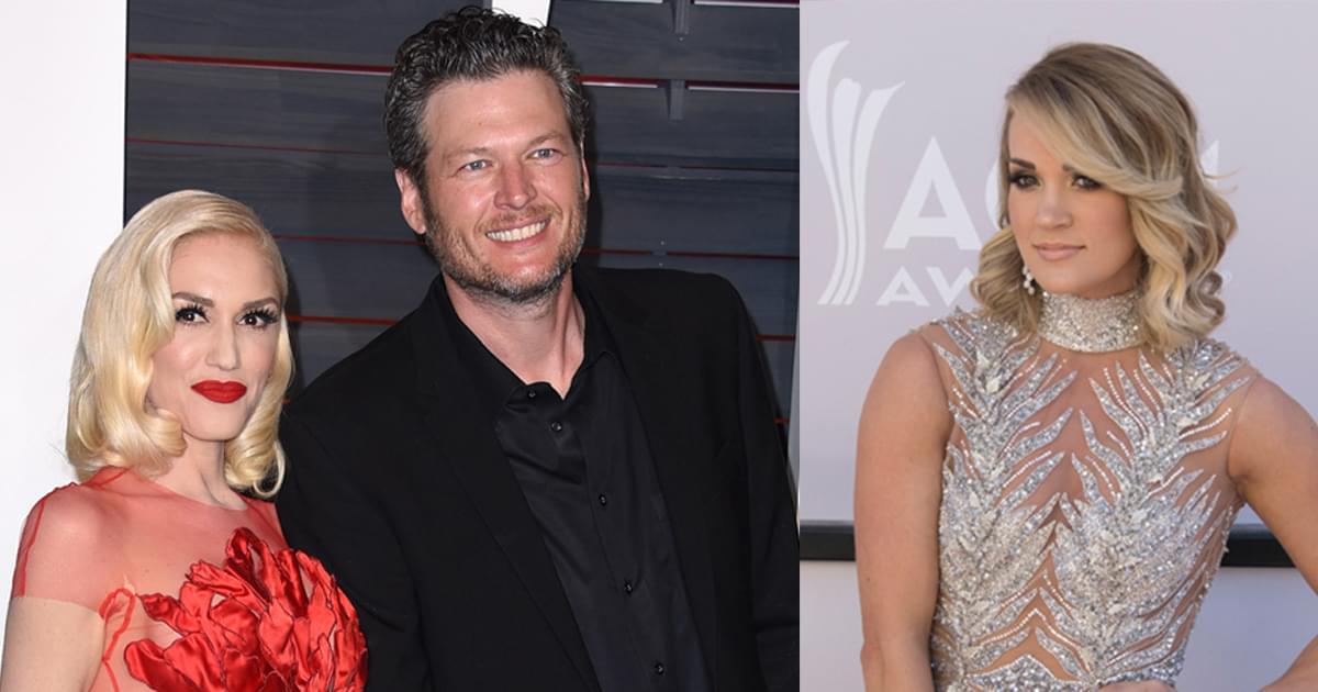 Blake Shelton, Gwen Stefani & Carrie Underwood to Perform at ACM Awards