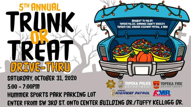 Topeka Police Department's 5th Annual Trunk or Treat!