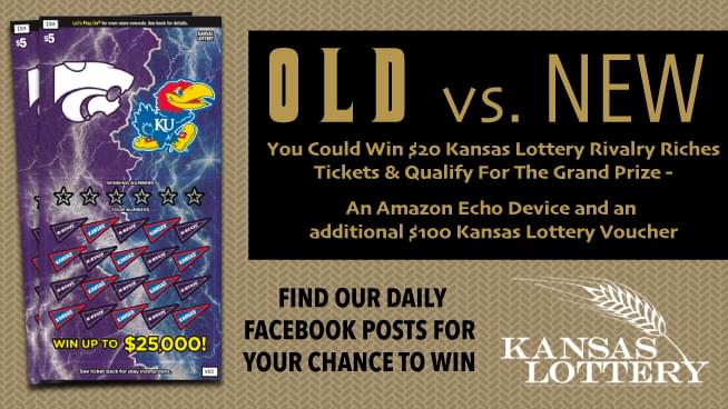 Old vs New Country? Vote to Win Kansas Lottery Rivalry Riches!