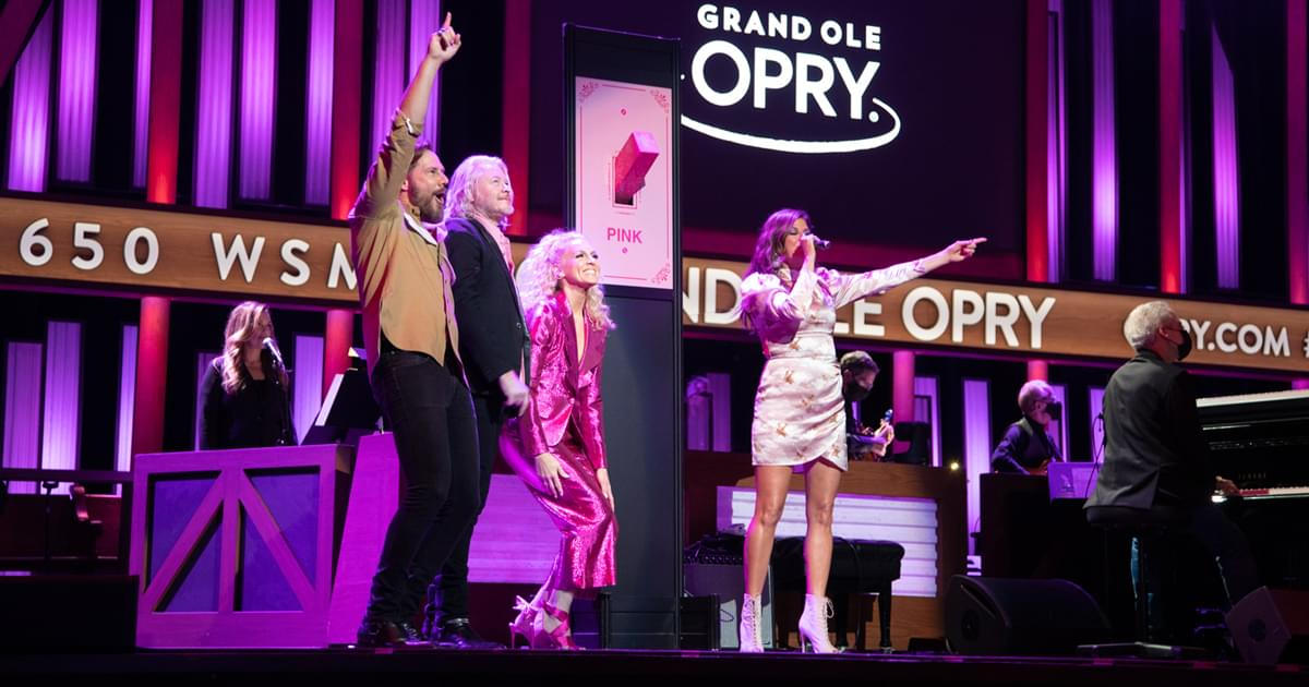 "12th Annual ""Opry Goes Pink"" Supports Fight Against Breast Cancer"