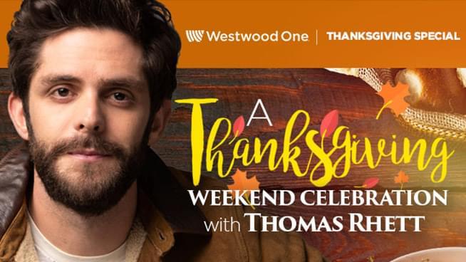 Celebrate Thanksgiving With Thomas Rhett
