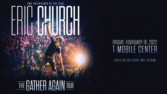 Eric Church Will Be At The T-Mobile Center