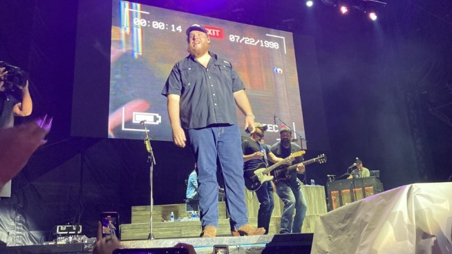 Luke Combs Shares Video of Two New Songs Recorded Live In Topeka