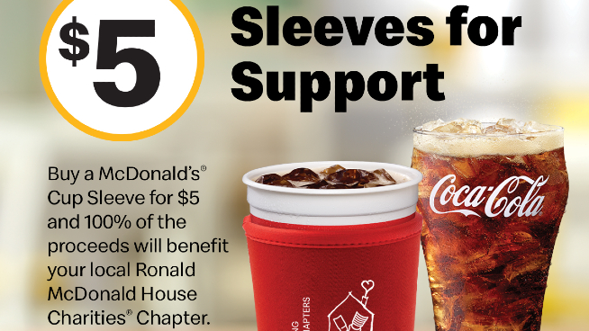 Help Our Local RMHC Chapter by Buying a Sleeve!