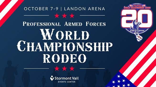 The Professional Armed Forces Rodeo Association World Championship Rodeo Is Coming To Landon Arena!