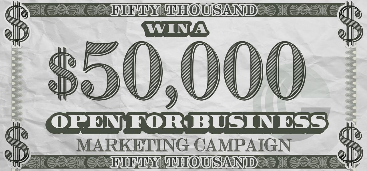 Win A $50,000 Marketing Campaign – Official Rules