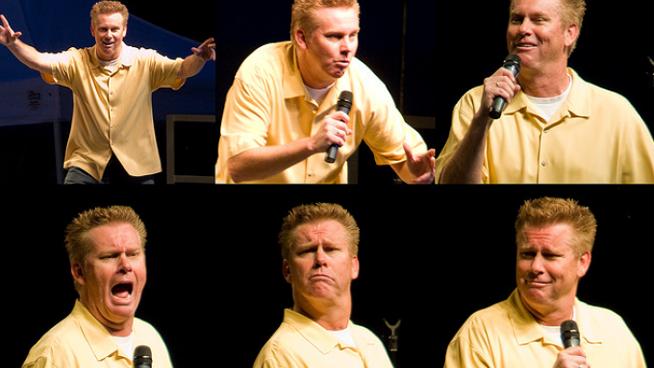 Brian Regan LOLs at The Topeka Performing Arts Center This Thursday Night