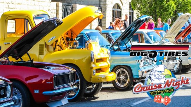 Cruise Night Car Show – May 4th, 2019