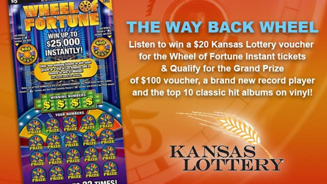 The Way Back Wheel with Kansas Lottery!