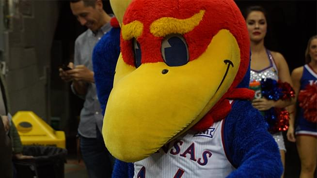 Win tickets to see the Jayhawks at Allen Fieldhouse!