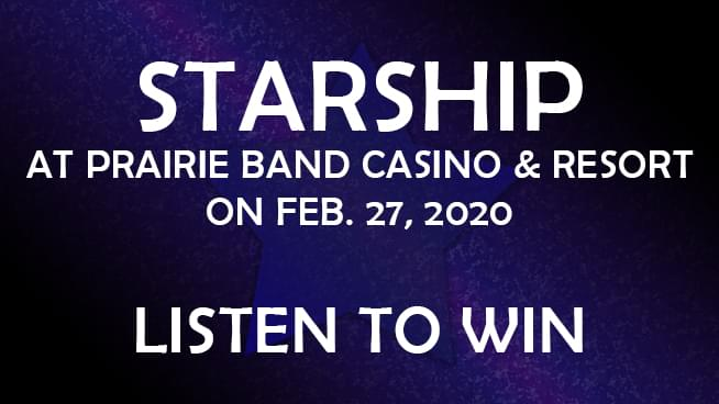 Listen to win Starship tickets!