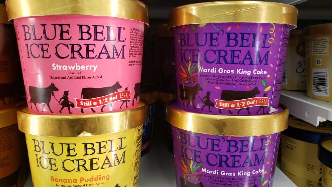 Blue Bell's Mardi Gras King Cake Is Back In Topeka