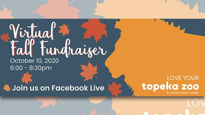 Love Your Topeka Zoo – a Virtual Fall Fundraiser