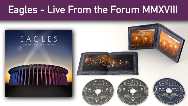 Win The Eagles – Live From The Forum MMXVIII 2CD/Blu-Ray