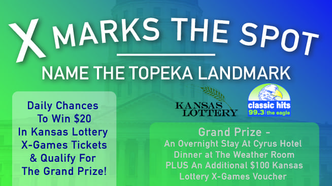 X Marks The Spot – Name The Topeka Landmarks To Win X-Games Tickets!