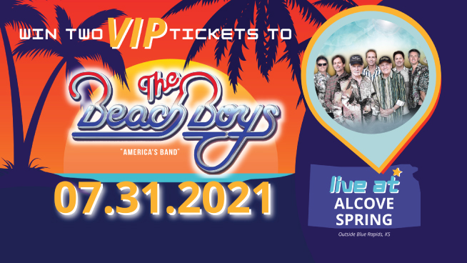 Win 2 VIP Beach Boys Tickets