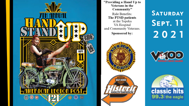 Join the 2021 Hand Up Stand Up Ride To Support Local Vets!