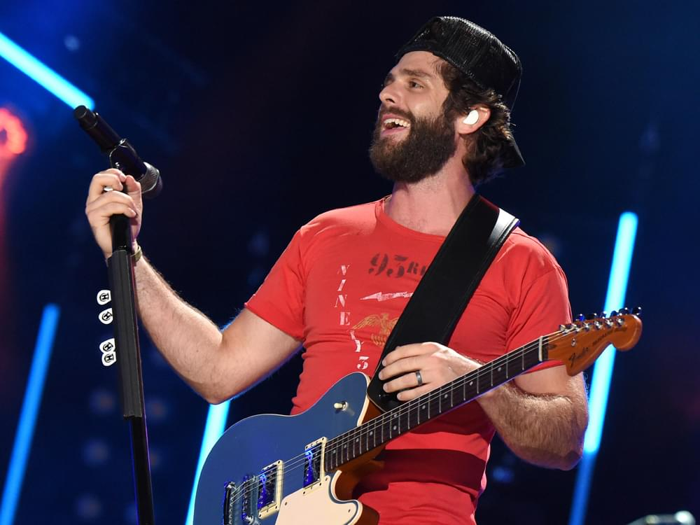 """Thomas Rhett Scores 13th No. 1 Single With """"Look What God Gave Her"""""""