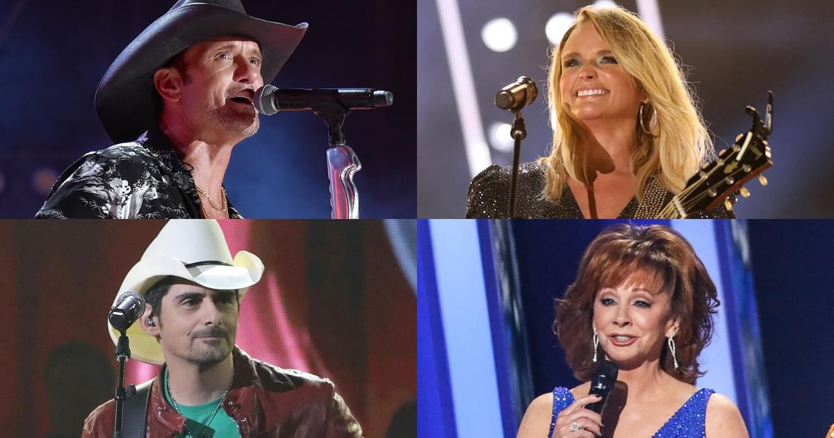 CMHOF Reveals Lineup for Museum Fundraiser With Reba McEntire, Tim McGraw, Miranda Lambert, Brad Paisley & More