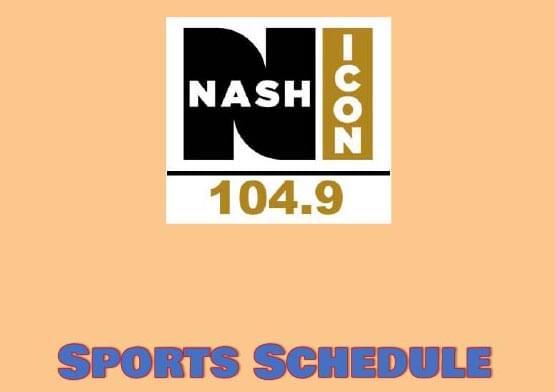 2021 NASH Sports Schedule
