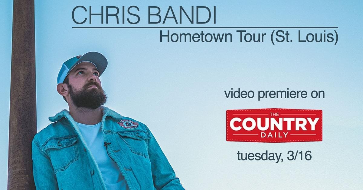 EXCLUSIVE: Chris Bandi Shares His Hometown Tour Video