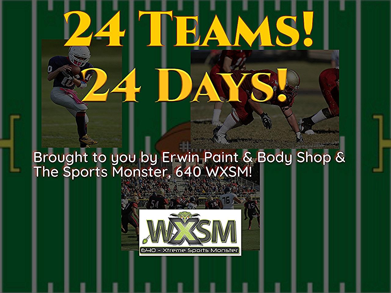 24 Teams 24 Days