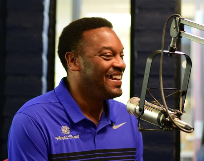 Kevin Sumlin Visits the Studio