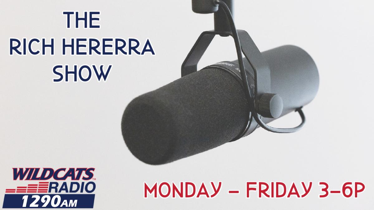 Rich Herrera on Wildcats Radio 1290