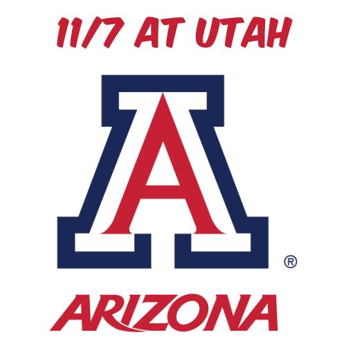 11/7: AZ Football at Utah