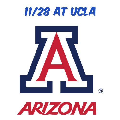 11/28: AZ Football at UCLA