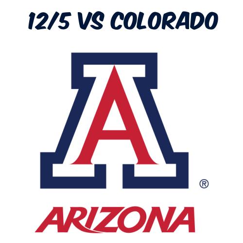 12/5: AZ Football vs Colorado