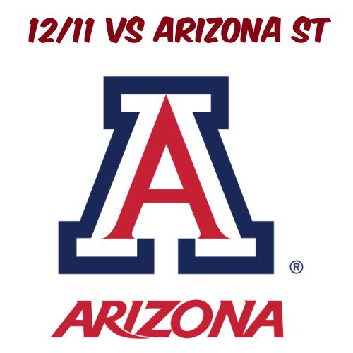 12/11: AZ Football vs ASU