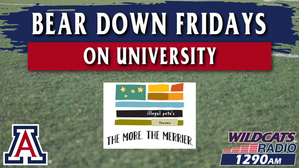 Bear Down Fridays with Rich at Illegal Pete's!