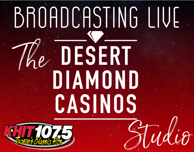 Broadcasting Live From The Desert Diamond Casinos and Entertainment Studio