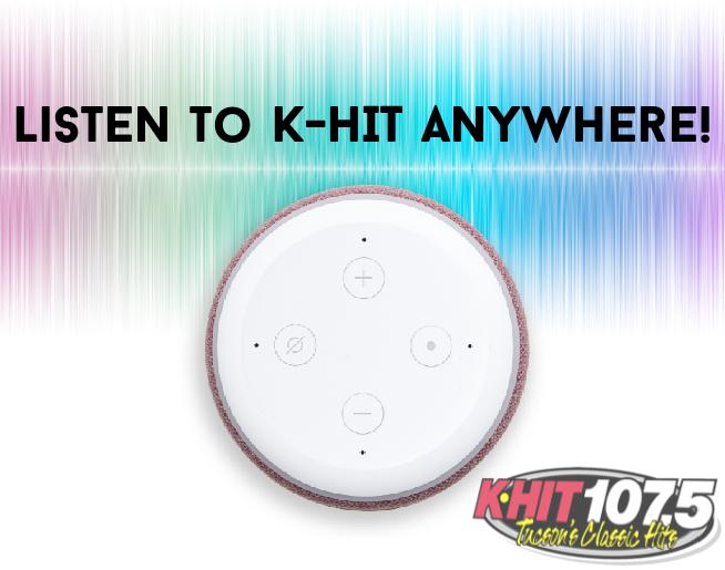 Listen to K-HIT 107-5 Anywhere!