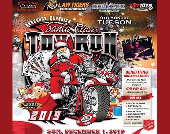 Santa Claus Toy Run