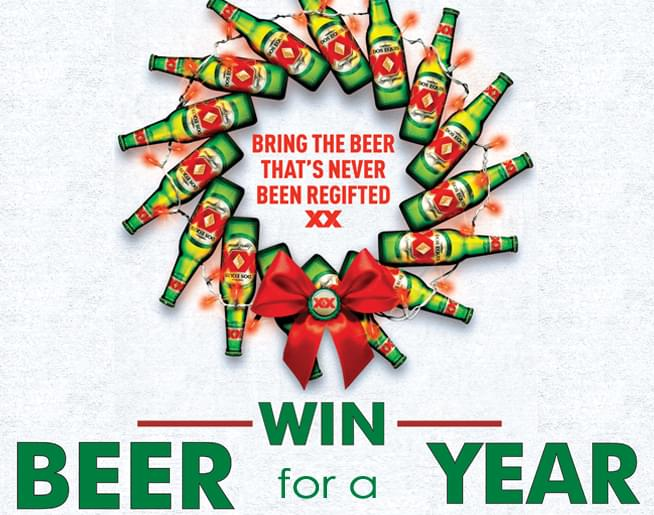 Win BEER For A YEAR with Dos Equis!