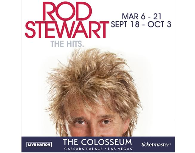 Rod Stewart: The Hits in LAS VEGAS!