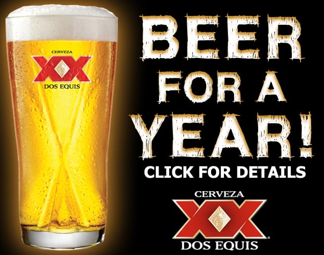 Win BEER For A YEAR with Dos Equis