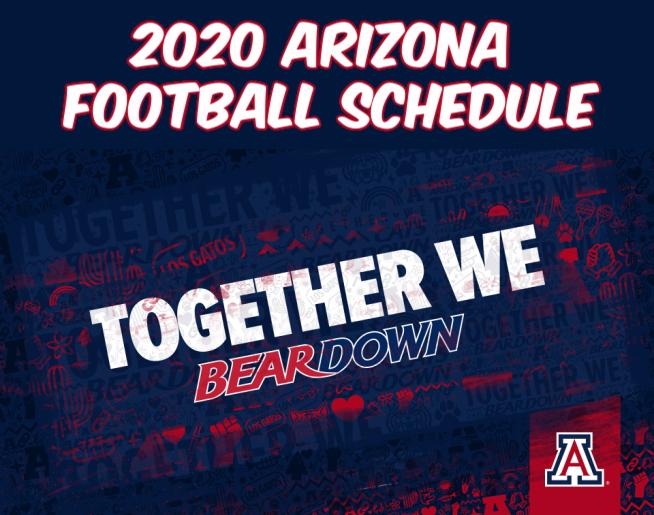 2020 Arizona Football Schedule