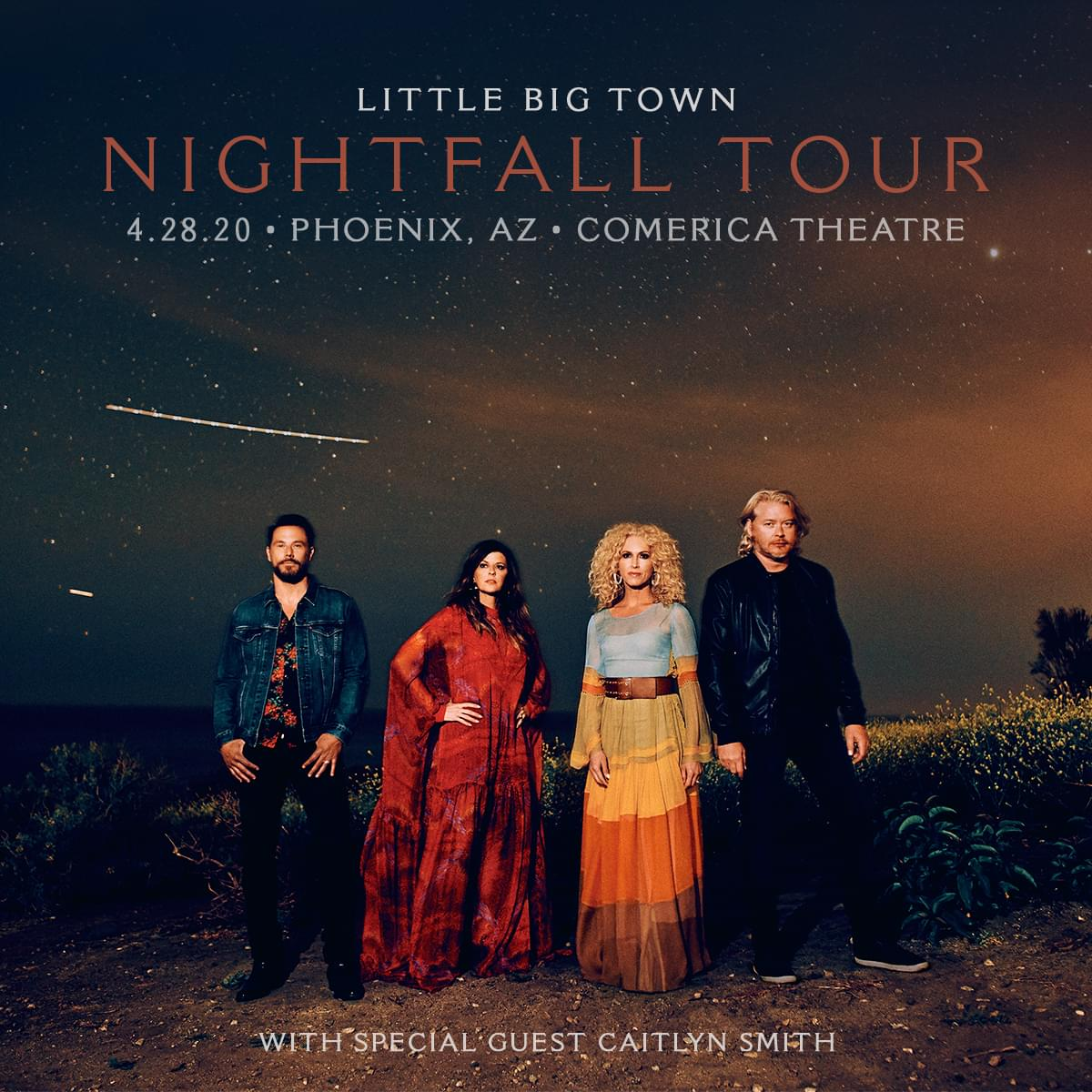 POSTPONED 4/28: Little Big Town at Comerica Theatre