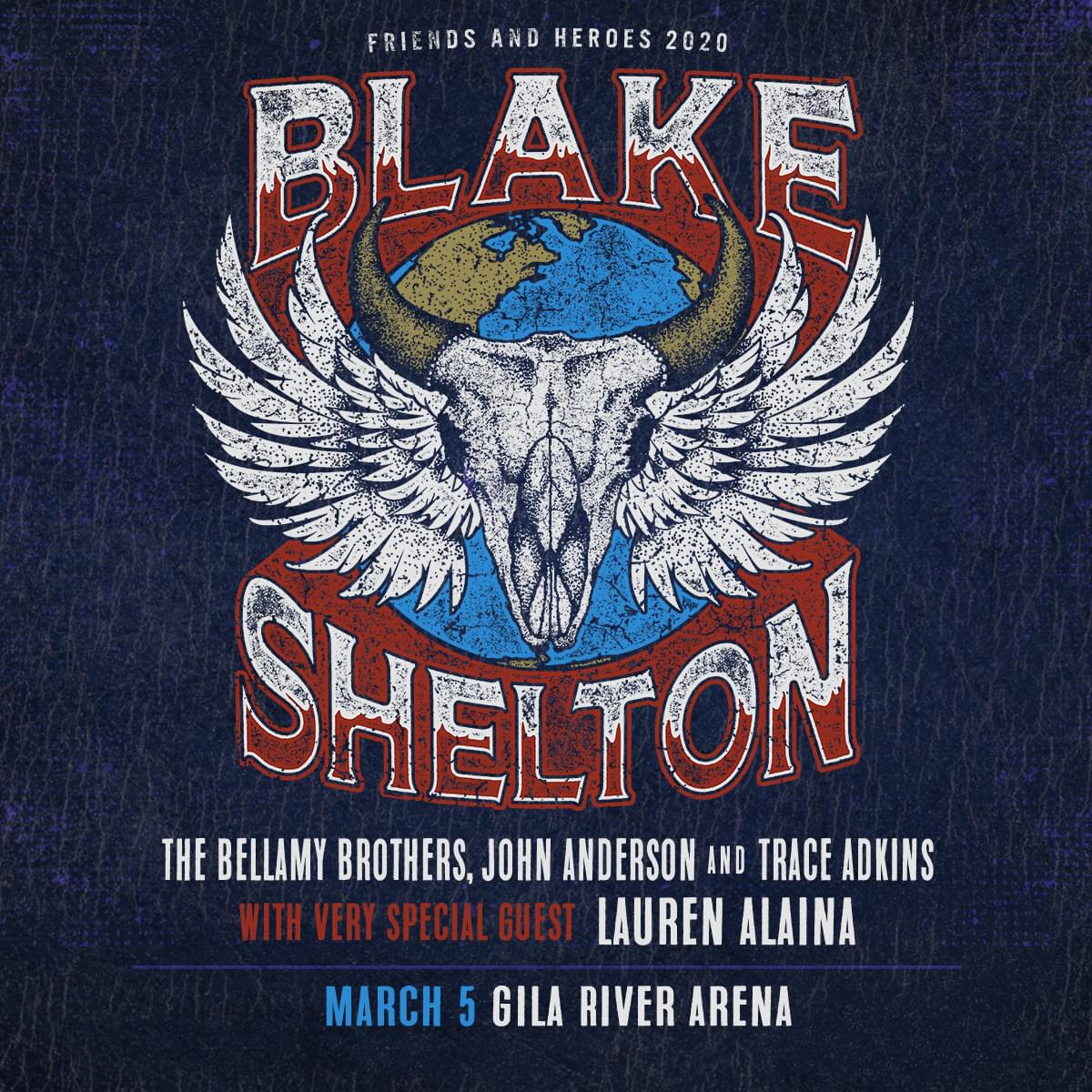 3/5: Blake Shelton at Gila River Arena